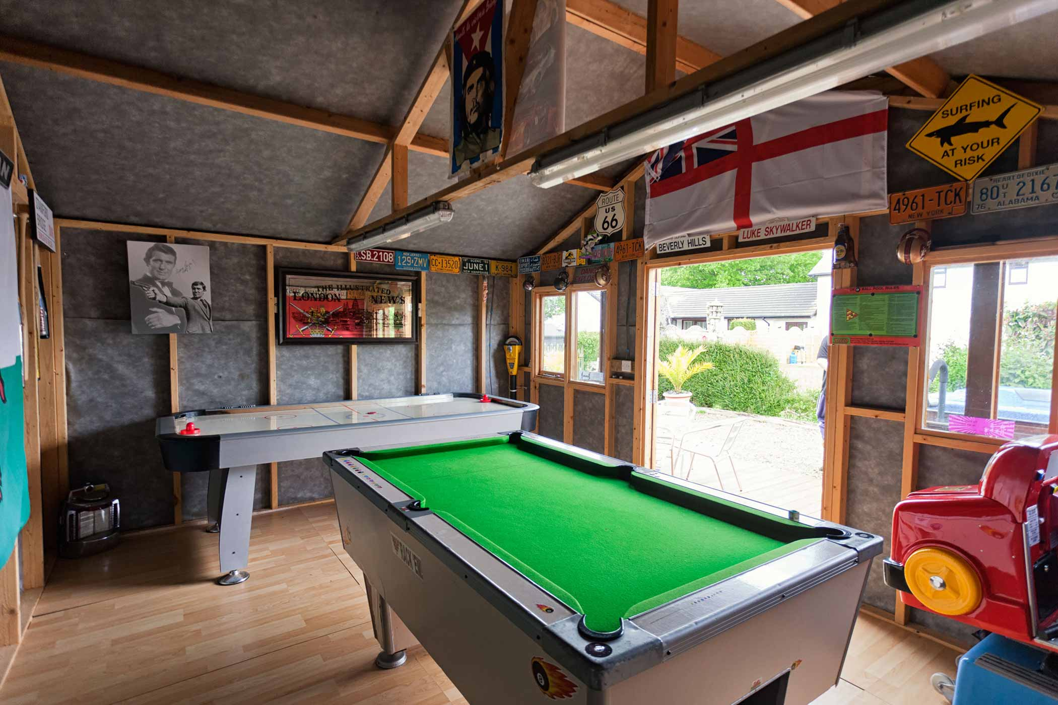 Parc Gwair Holiday Cottage New Quay Games Room