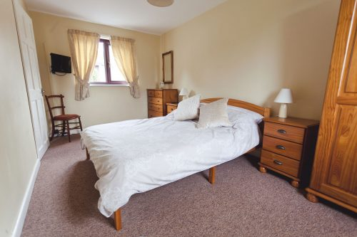 Parc gwair double bedroom