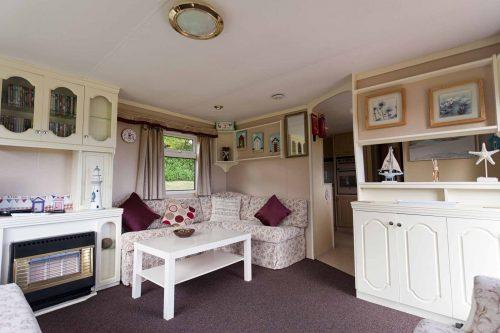 Parc Gwair Caravan Living Room 2