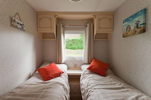 Parc Gwair Caravan Twin Room